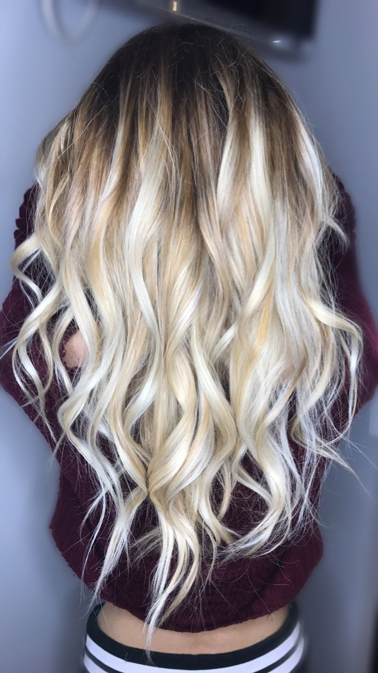 balayage blonde hair goals ig halezbeauty balayage haare pinterest haar haar und. Black Bedroom Furniture Sets. Home Design Ideas
