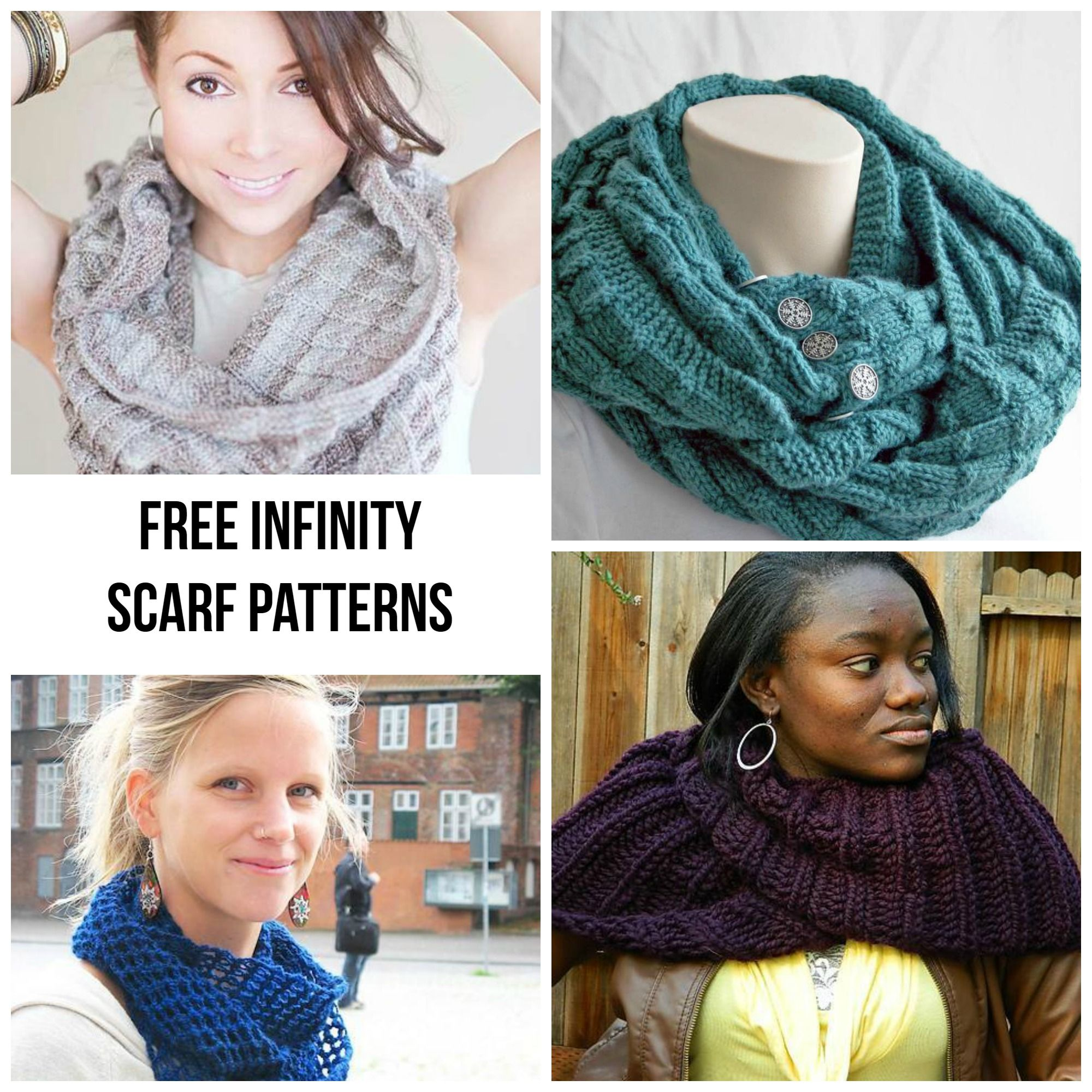 Get Wrapped Up in 7 FREE Infinity Scarf Patterns ...
