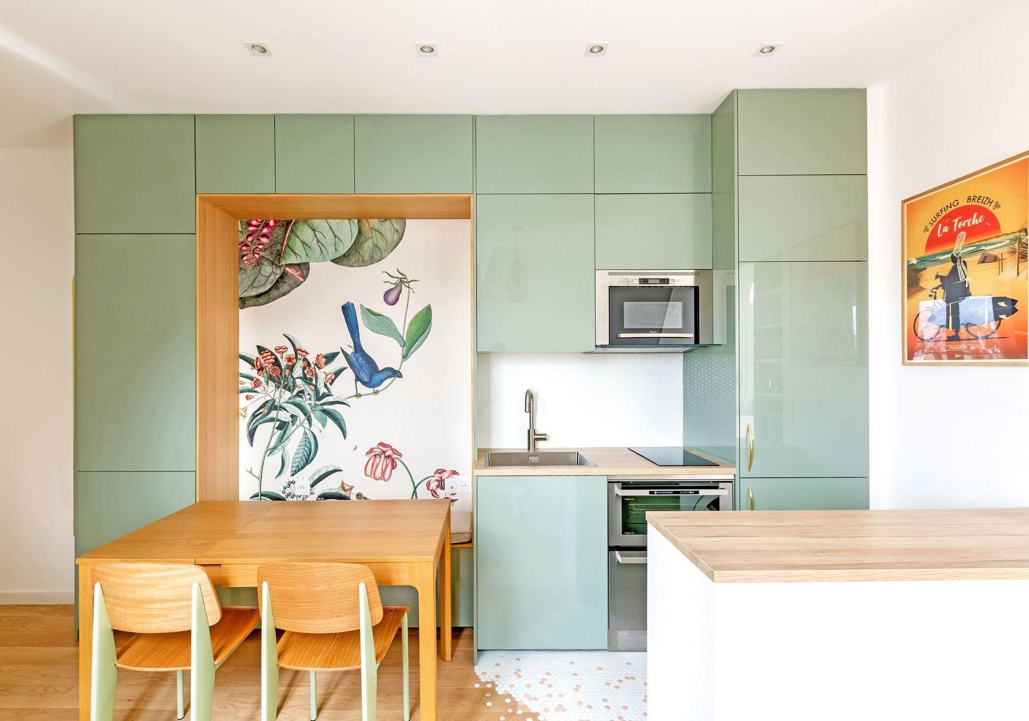 Petit Appartement Paris 10 Amenagements Sur Mesure Et Deco Champetre En 2020 Petit Appartement Appartement Appartement Paris