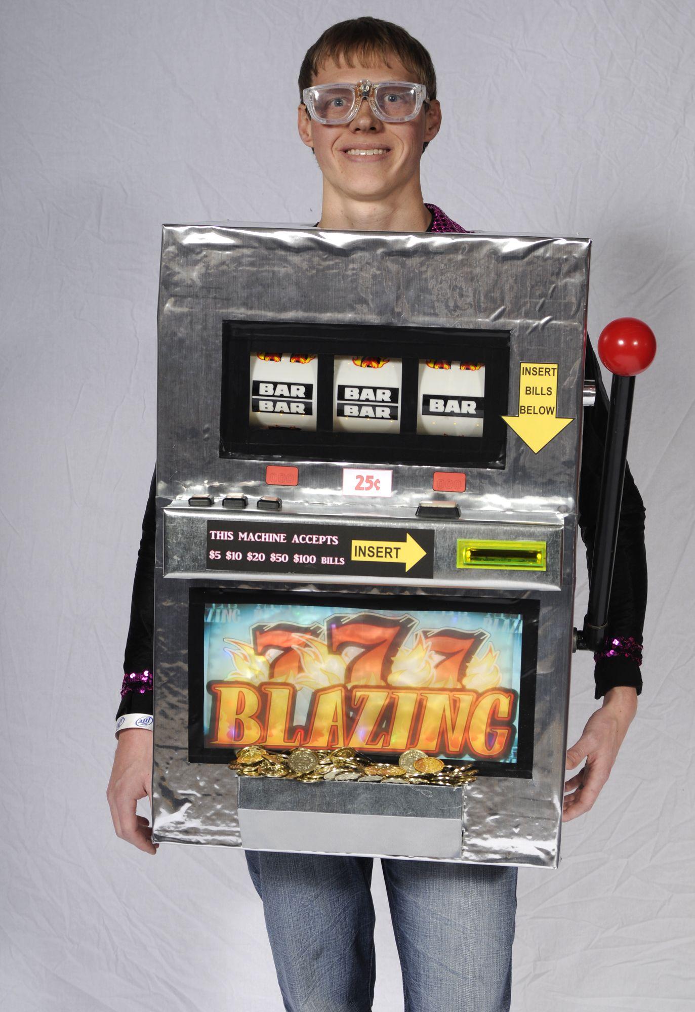 Slot Machine Halloween Costume