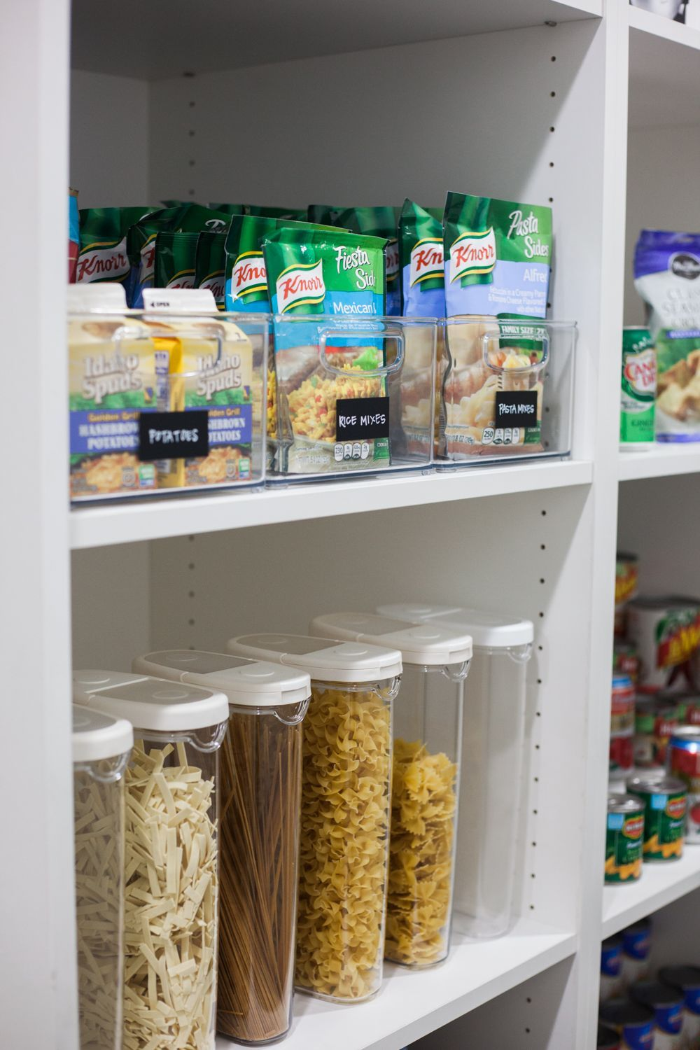 our home pantry 5 organizing tips food storage cabinet canned food storage pantry organization on kitchen organization cabinet id=63548