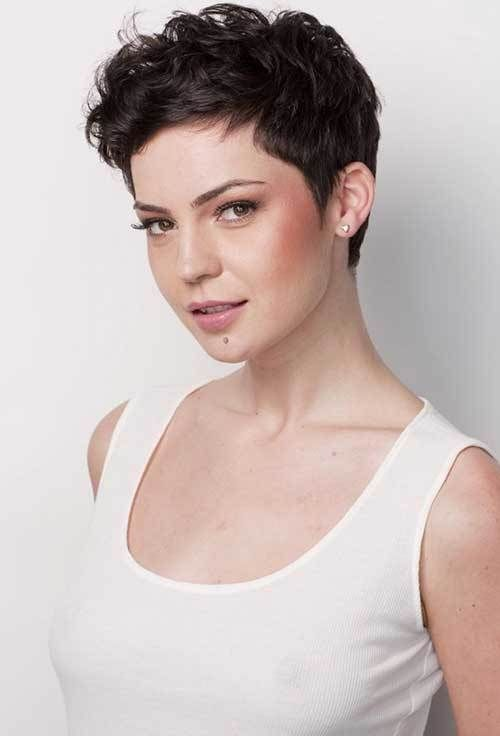 Short Curly Hairstyles For Prom : 15 different wavy pixie cuts. prom hairstyles for cuts