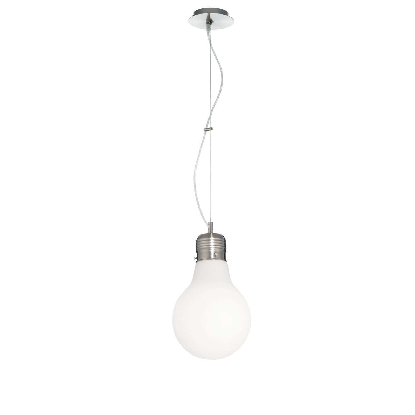A forma di lampadina, <strong>Luce Sp1 Small di Ideal Lux</strong> è ...