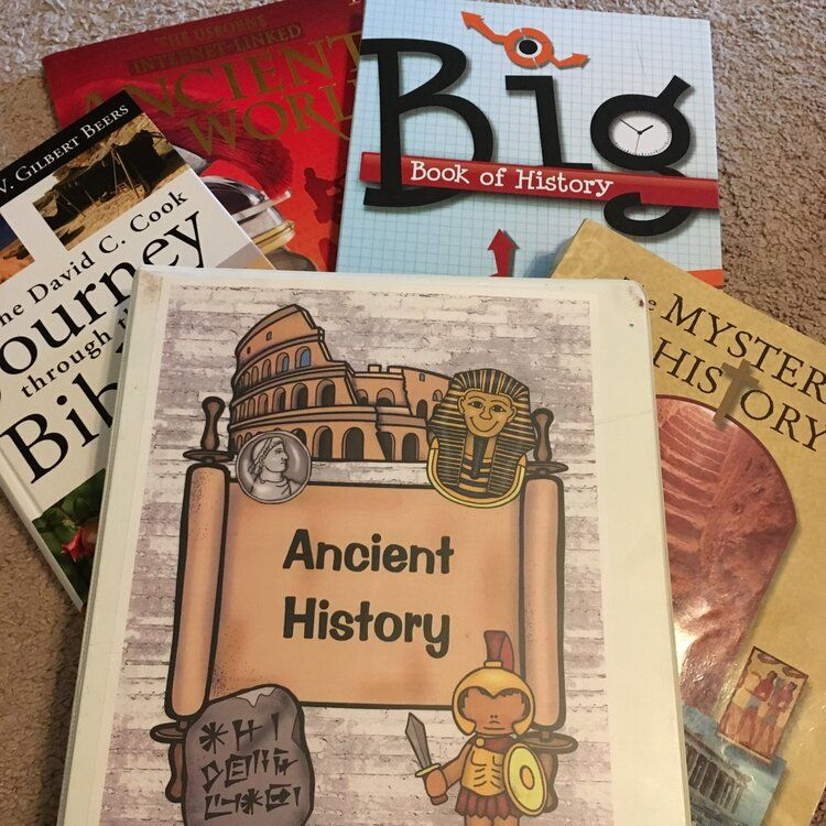 Photo of History Notebook Pages — Hubbard's Cupboard