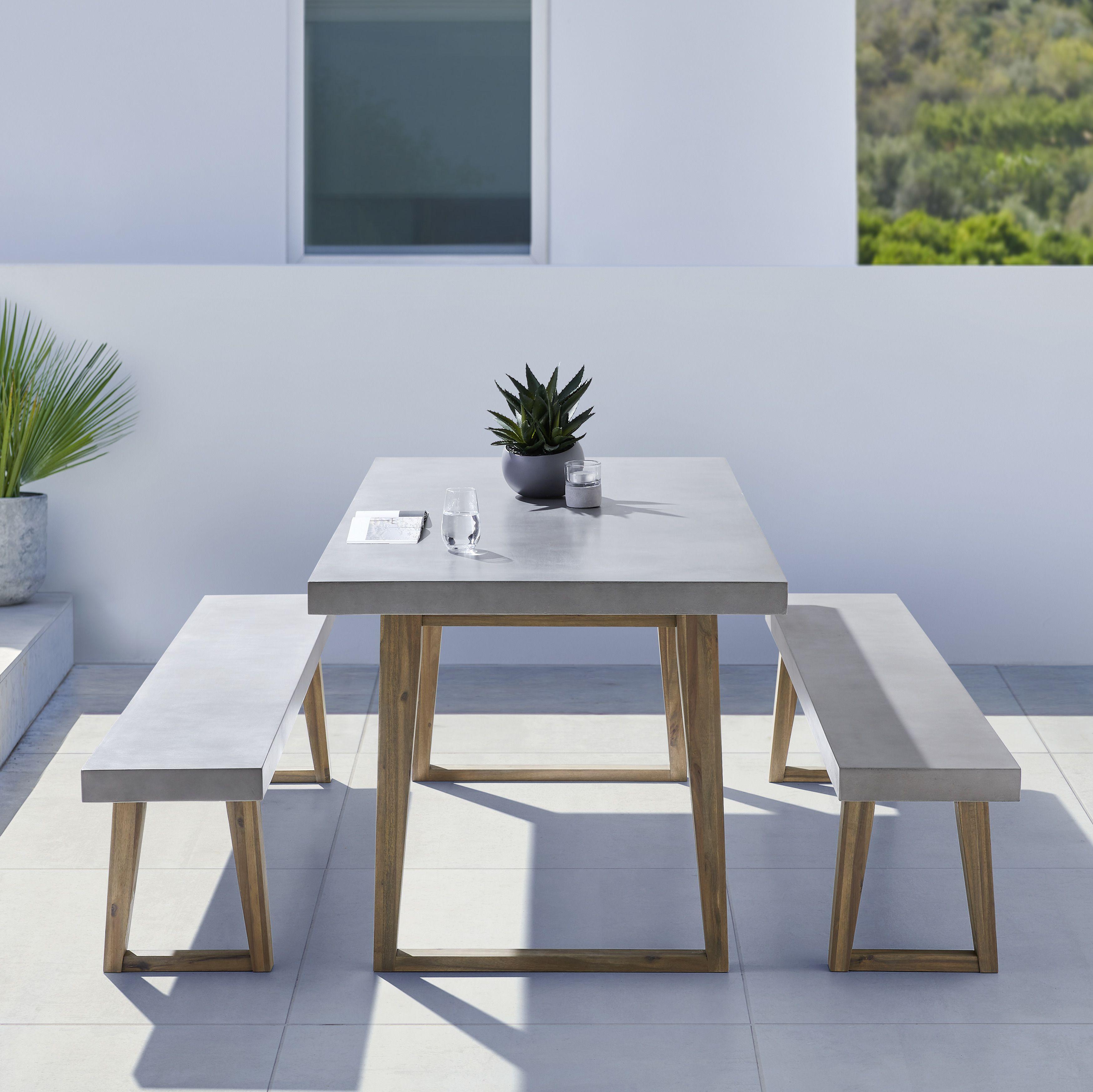 Gartenmobel Garten Gartentisch Holzmobel Mobel Aus Holz In 2021 Gartentisch Gartentisch Betonoptik Tisch Betonoptik