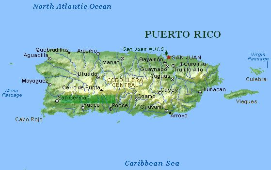Puerto Rico Puerto Rico Pinterest Puerto Rico Map Cruises - Political map of puerto rico