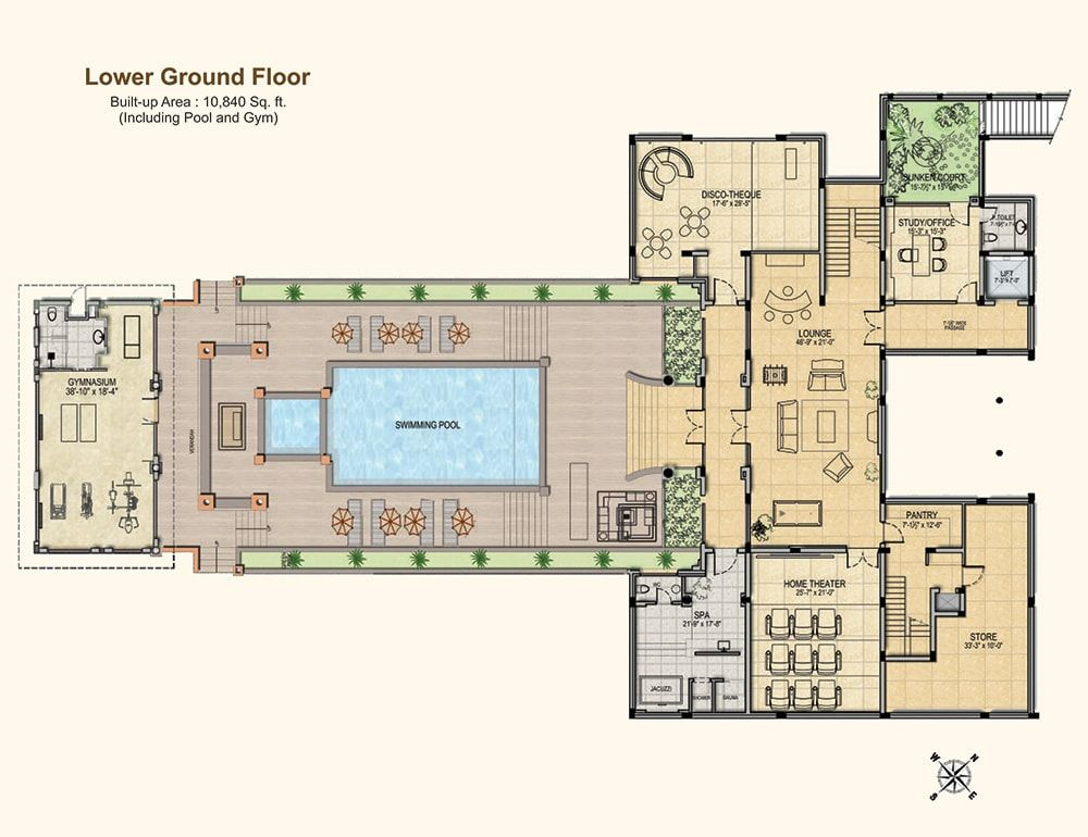 Floor Plans Gaur Mulberry Mansions Greater Noida West Floor Plans Mansion Floor Plan Sims House Plans