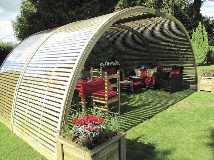 Le top des ABRIS de Jardin – 45 idées design | Abris de ...