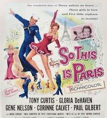 So This Is Paris (1955 film)