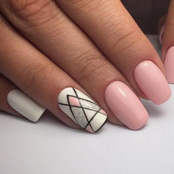 40 Easy Spring Nail Designs für kurze Nägel – #designs #kurze #nagel #spring -… – #Designs
