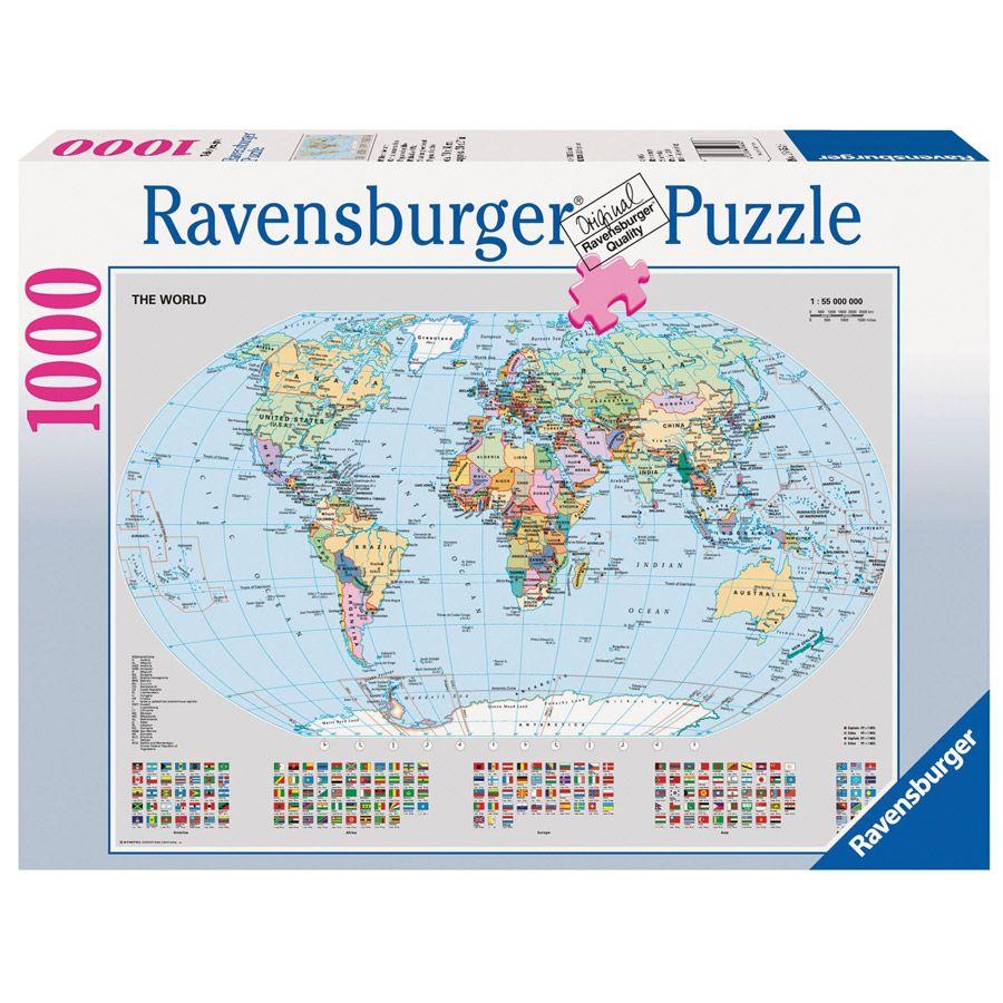 Ravensburger political world map puzzle 1000 piece toys r us ravensburger political world map puzzle 1000 piece toys r us australia gumiabroncs Images