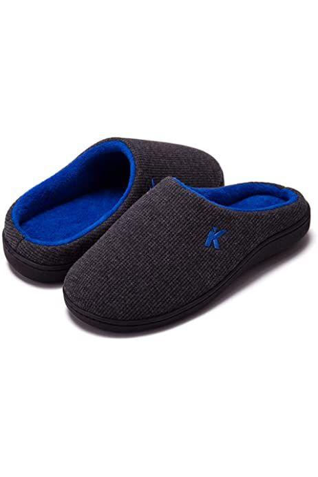 Photo of Inverno Pantofole da Casa Uomo in Memory Foam in Caldo Cotone Invernale Antiscivolo Unisex Adulto Scarpe Pantofole Uomo Invernali