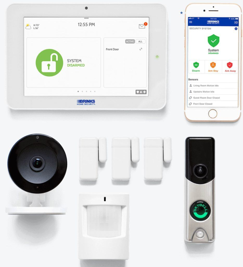 Looking At The Equipment And Costs Of The Brinks Home Security System Home Security Security System Best Security System