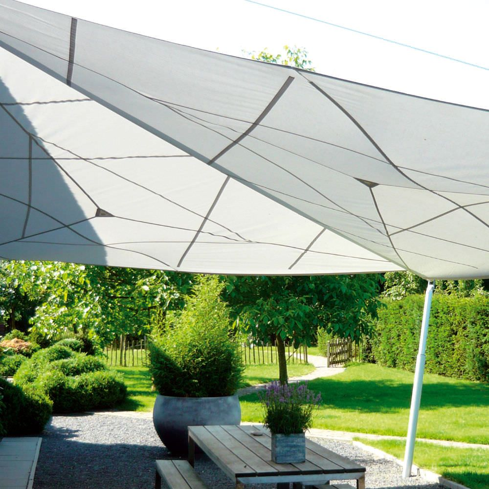 shade sail outdoor space Outdoor shade, Shade sail