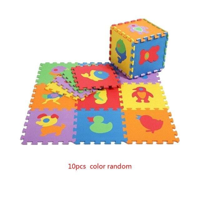 14+ Animal Number Pattern EVA Foam Puzzle   Animal
