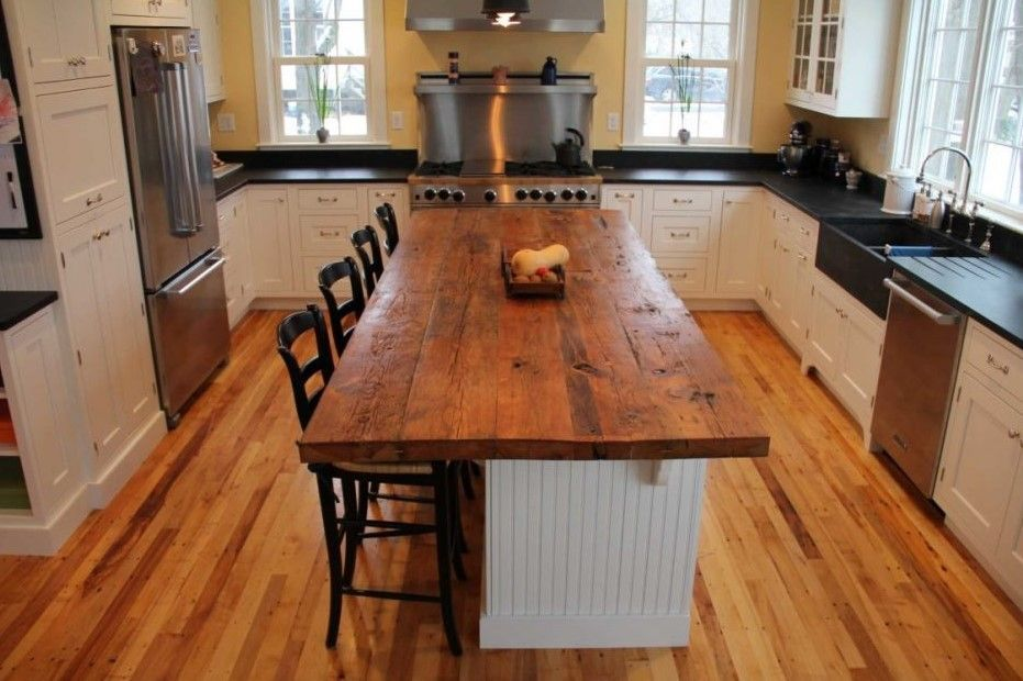 The Most Captivating Simple Kitchen Design For Middle Class Family Archlux Net Rustic Kitchen Island Kitchen Island Design Kitchen Design