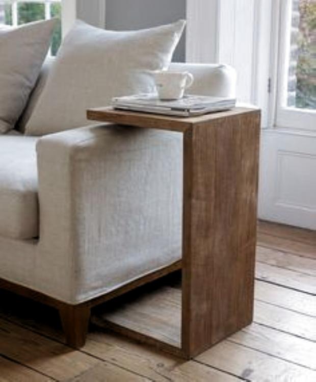 Photo of DIY: a table dappoint pour le canapé – Floriane Lemarié, # canapé #dappoint …