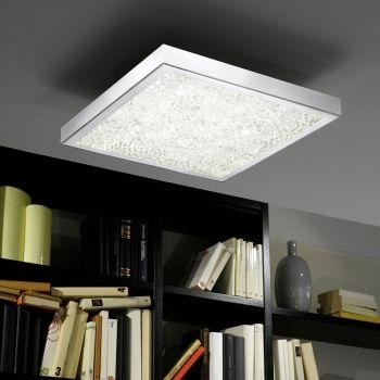 Pin by click-lichtde GmbH  Co KG on Lampen mit Kristallen Pinterest - led leuchten wohnzimmer
