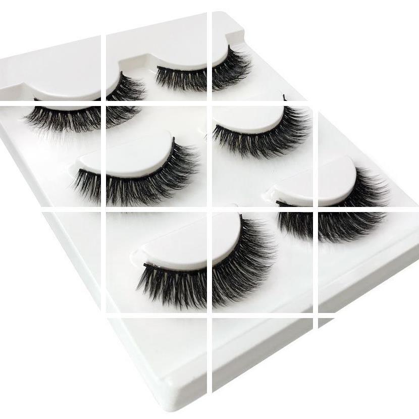 Eyelash technician temporary eyelash extensions about