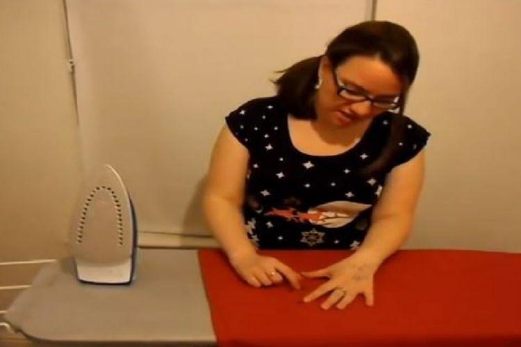 Comment enlever de la cire de chandelle sur une nappe en tissu !