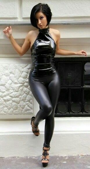 Are absolutely Tight shiny spandex girls are