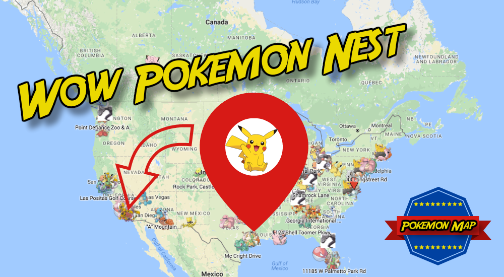 Pokemon Go Nest Map Check It Out News Stories Pinterest