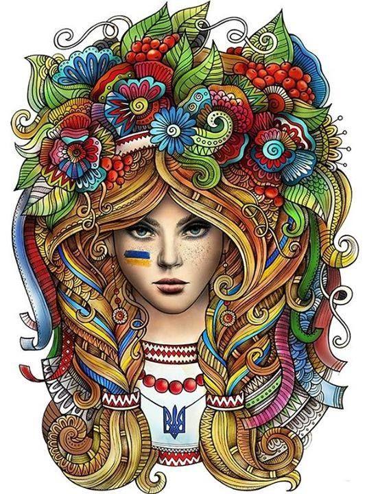 A incrível ilustração de Olga Kostenko
