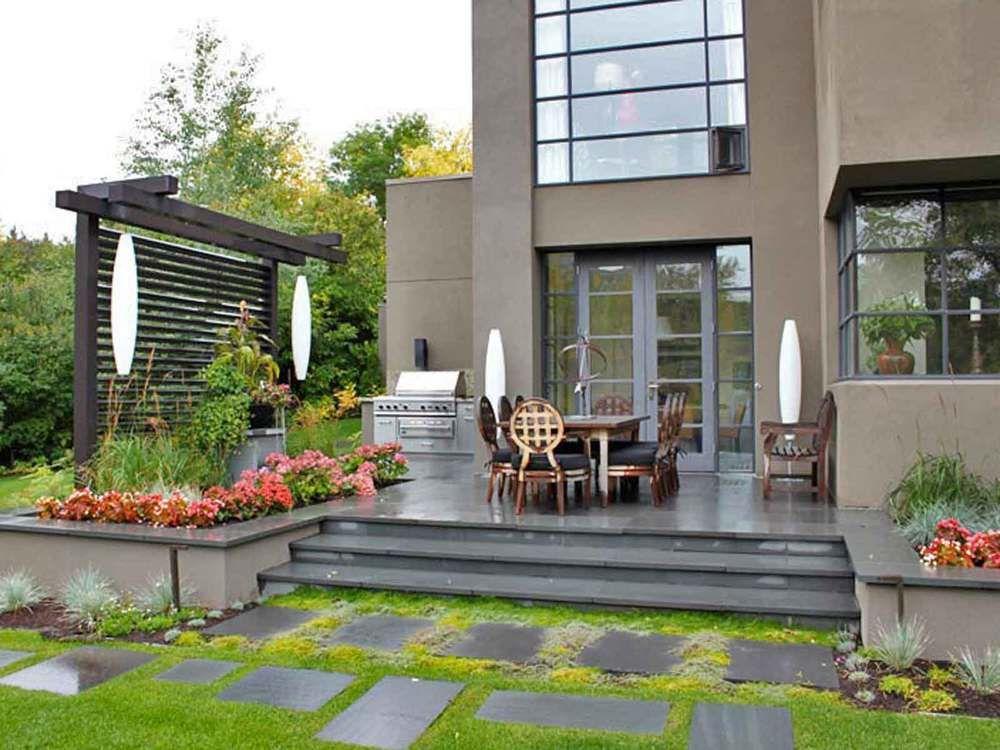 Elbow Park Residence Calgary Alberta Modern Garden Design Custom Outdoor Living Area Outdoor Modern Landscaping Landscape Design Plans Landscaping Near Me