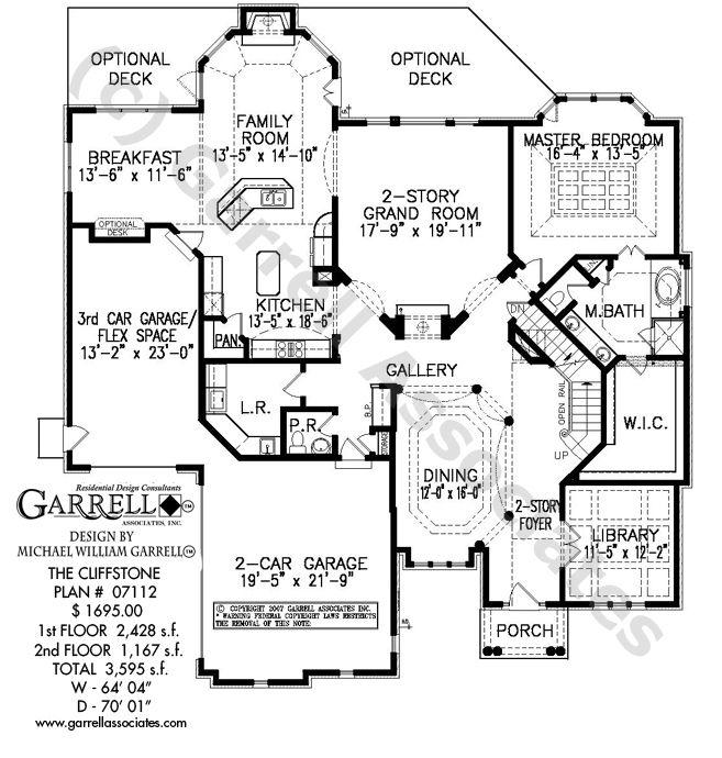 cliffstone house plan 07112 garrell associates inc