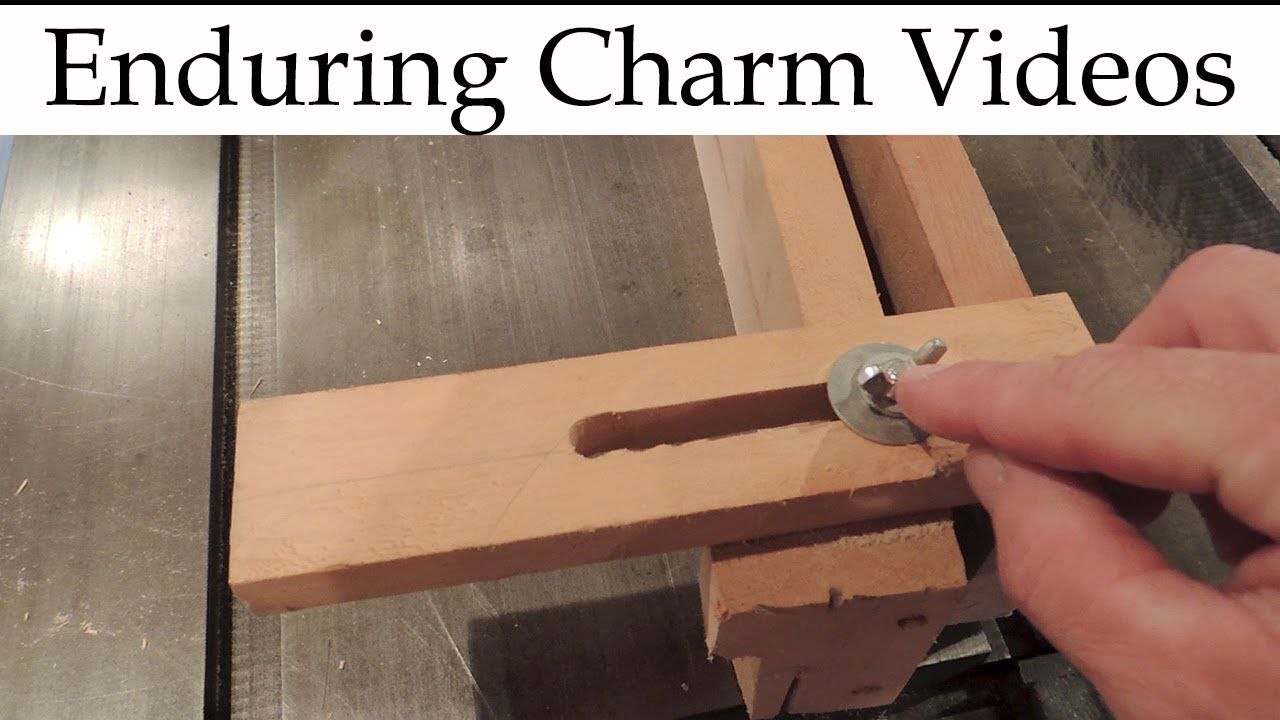 tapering jig for table saws | workshop | table saw