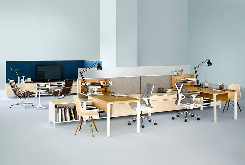 Canvas Office Landscape Office Furniture System Herman Miller Enchanting Herman Miller Office Design