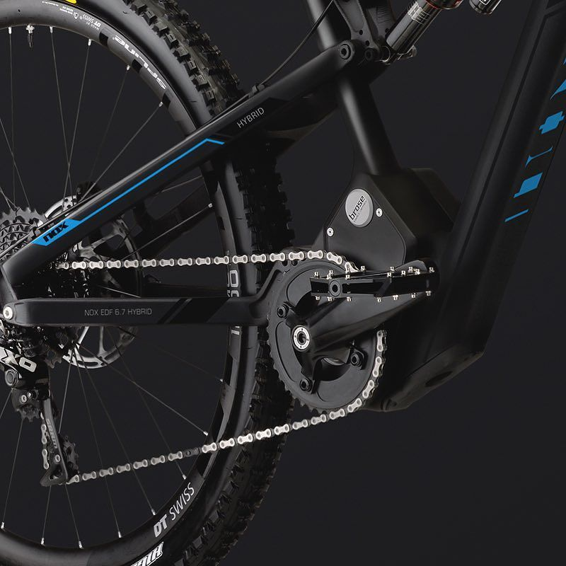 Instagram picutre by @nox_cycles_berlin: NEW! NOX EDF 6.7 HYBRID #ebike #enduro #eenduro #hybrid #bike #goodtimes #noxcyclesberlin - Shop E-Bikes at ElectricBikeCity.com (Use coupon PINTEREST for 10% off!)