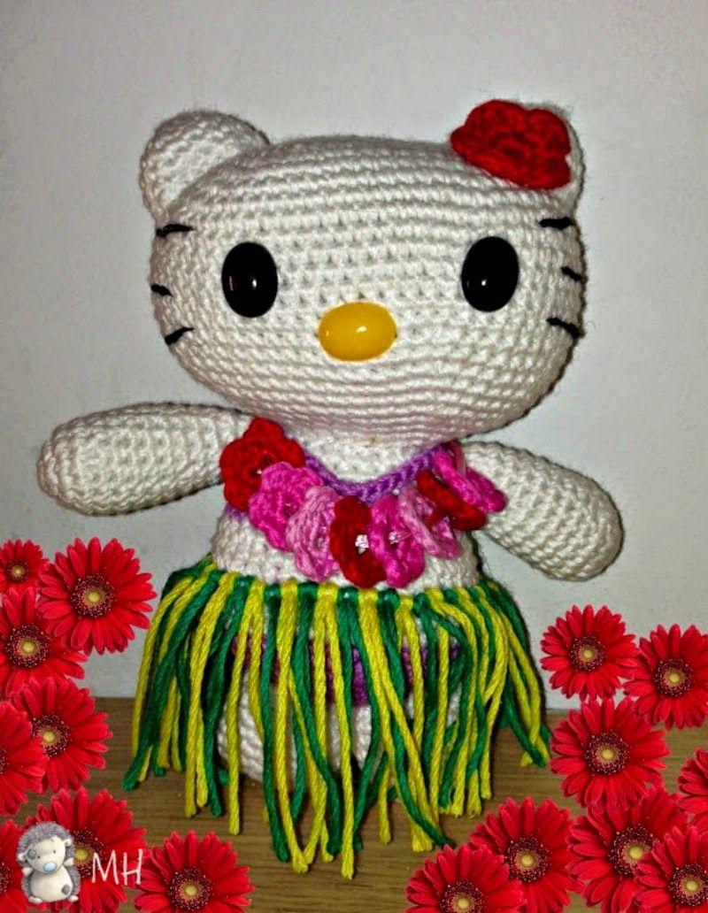 Hello Kitty hawaiana amigurumi   My next projects   Pinterest ...