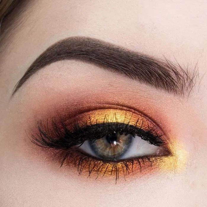Pin By Brandi Bartlett On Kieran Beautiful Brown Eyes Colorful Eyeshadow Hazel Brown Eyes