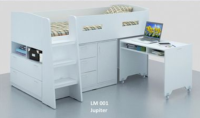 Jupiter Midi Sleeper Bunk Bed Measurement Width 1460mm X Length 2180mm Height 1200mm