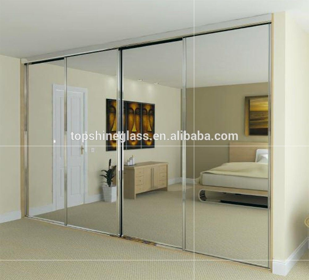 Mirror Glass Sliding Closet Doors Closet Pinterest Sliding