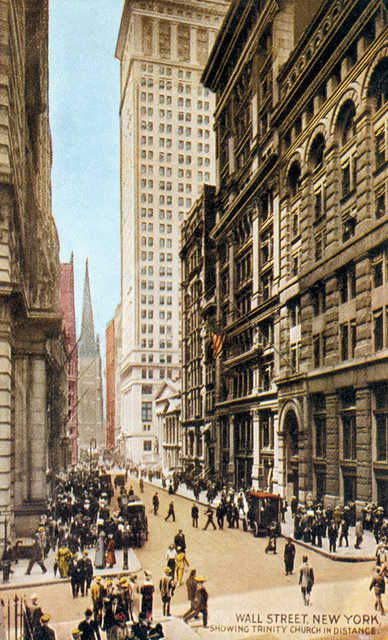 wall street at williams new york city showing trinity on wall street news id=24235