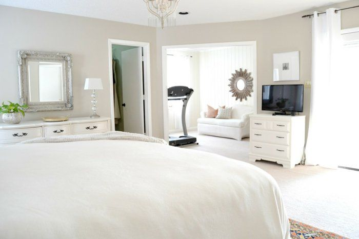 GroB Schöne Wohnideen Schlafzimmer Einrichten Fitnessbereich Gestalten