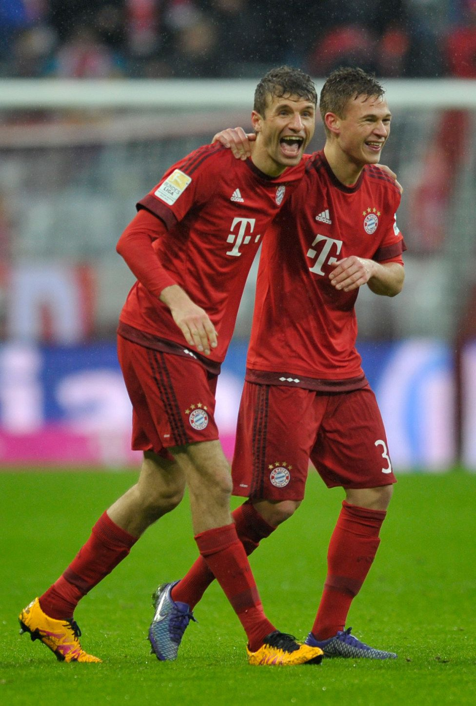 Thomas Mller And Joshua Kimmich Fc Bayern Mnchen Pinterest