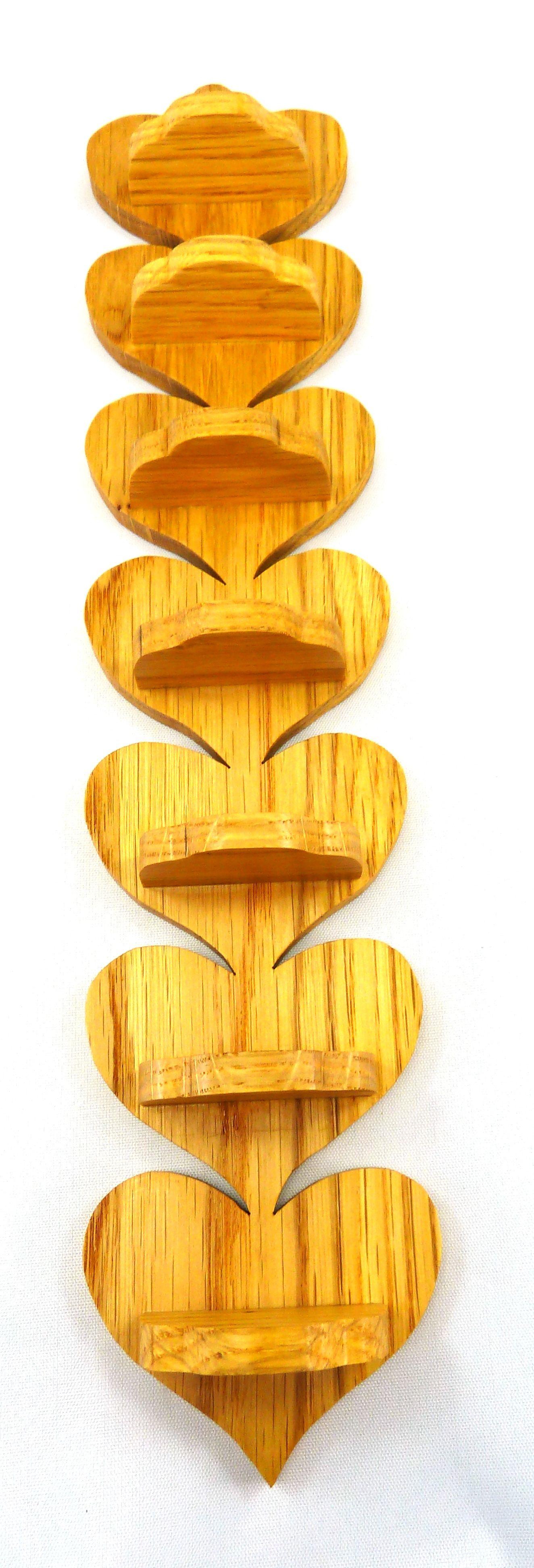 Rustic Wood Shelf, Wall Shelf, Wood Wall Art, Heart, Farm, Country ...