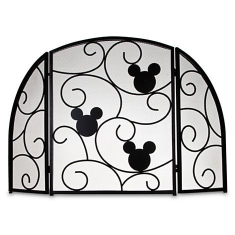 Surprising Mickey Mouse Fireplace Screen Item No 302153P 159 95 Home Remodeling Inspirations Genioncuboardxyz