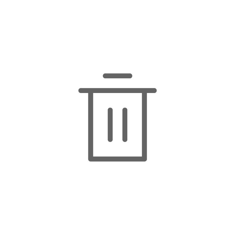 Interface Line By Deemak Daksina Recycle Bin Icon Symbol