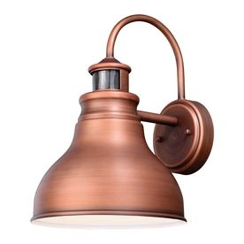 Cascadia Lighting Delano 13 25 In H Brushed Copper Motion