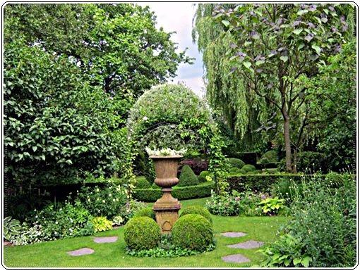 Garten Janssen hosta rodgersien und lilien begleitpflanzen herzlich