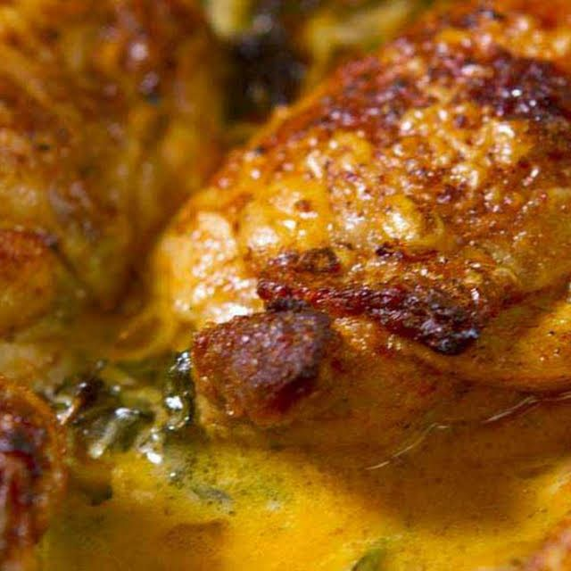 Lemon Butter Chicken Thighs