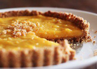 طريقة عمل تارت البرتقال والجبن الكيرى محشى كوم Tart Recipes Grapefruit Recipes Citrus Tart Recipes