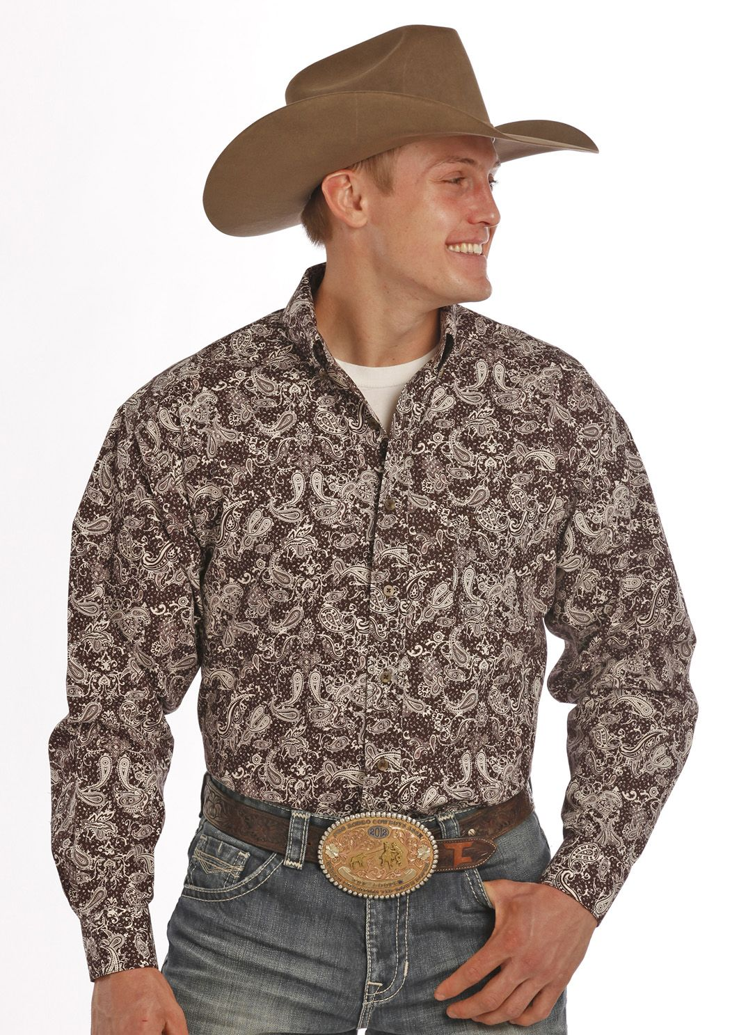Tuf Cooper Performance Mens Competition Fit Print Shirt
