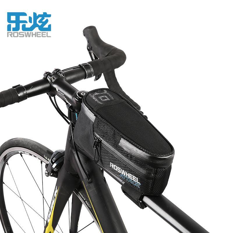 ROSWHEEL ATTACK Series Waterproof Bag Top Front Frame Tube Triangle Bag WA FI Radsport