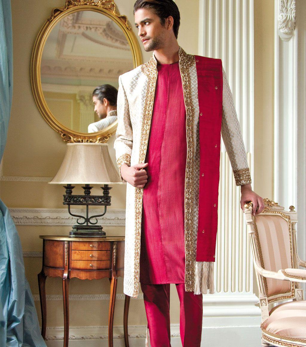 Traditional Groom Sherwani   Indische kleren   Pinterest ...