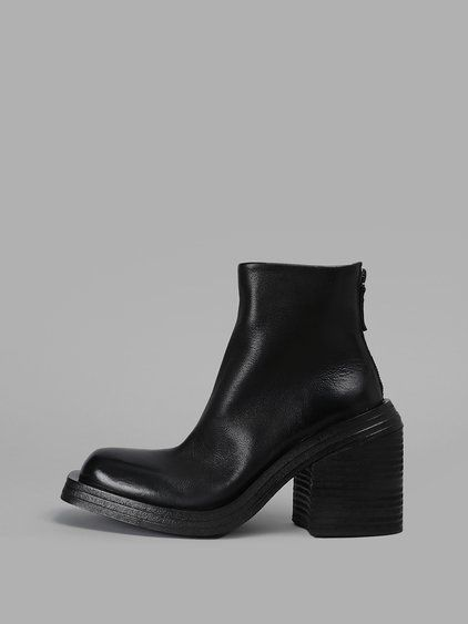 outlet order online sale comfortable Marsèll Leather Pointed-Toe Booties w/ Tags discount very cheap discount release dates pVmPdPOOJ